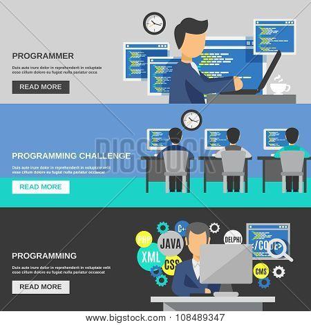 Programmer Banner Set