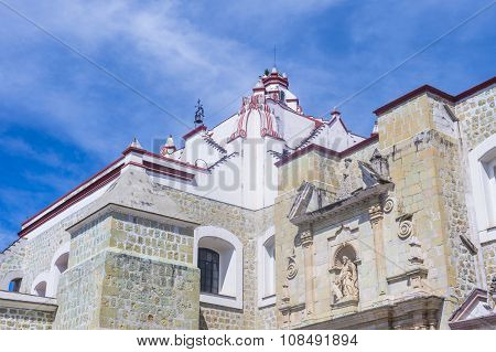 The Basilica Of Our Lady Of Solitude In Oaxaca Mexico
