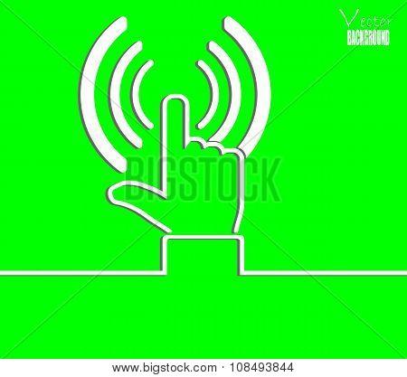 Vector Background Press