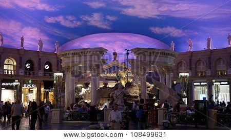 Forum Shops in Las Vegas, Nevada