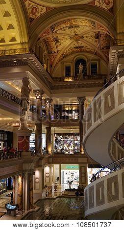 Forum Shops in Las Vegas, Nevada