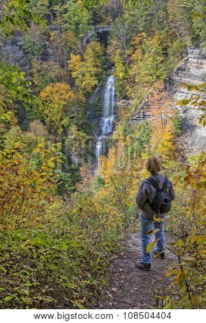 Enjoying The Autumn Colors Of Letchworth State Park