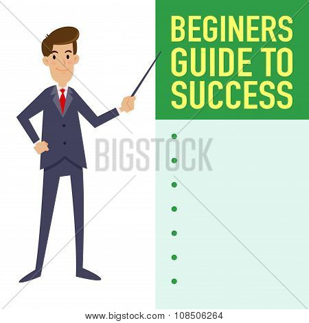 Businessman Guide To Success