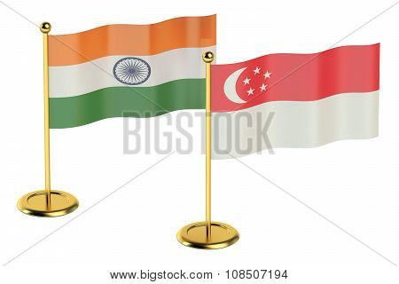 Meeting India With Singapore Concept