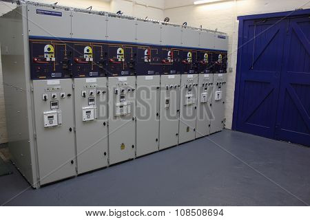 Switch gear and panels