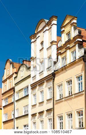 Plac Ratuszowy Square, Jelenia Gora, Silesia, Poland