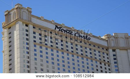 Monte Carlo Hotel and Casino in Las Vegas