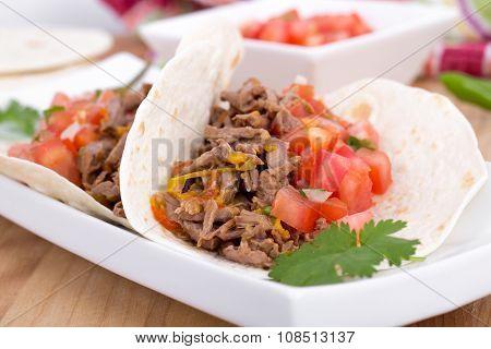 Pork Cornita With Pico