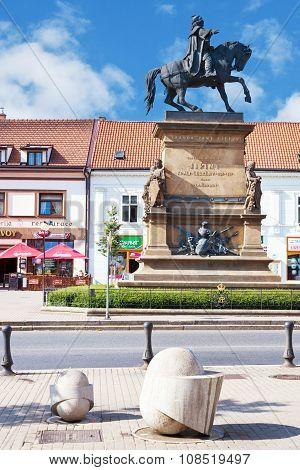 King George Of Podebrady Statue, Spa Town Podebrady, Central Bohemia, Czech Republic