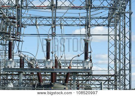 electricity transformer power station high voltage