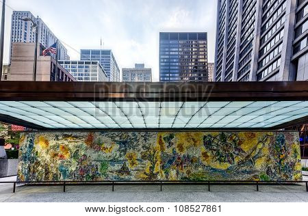 Four Seasons Mosaic - Chicago