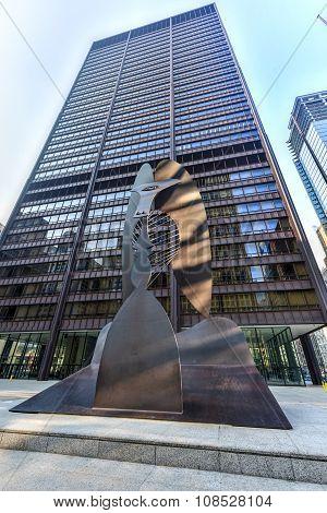 Picasso Sculpture In Chicago
