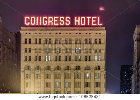 Congress Plaza Hotel - Chicago
