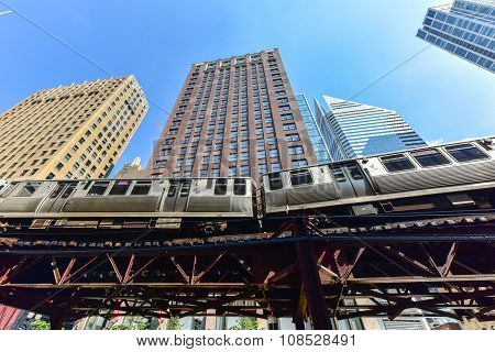 Chicago Cta Subway Loop