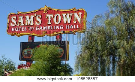 Sam's Town Hotel and Gambling Hall in Las Vegas