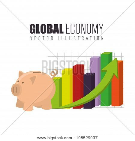Global economy growth up
