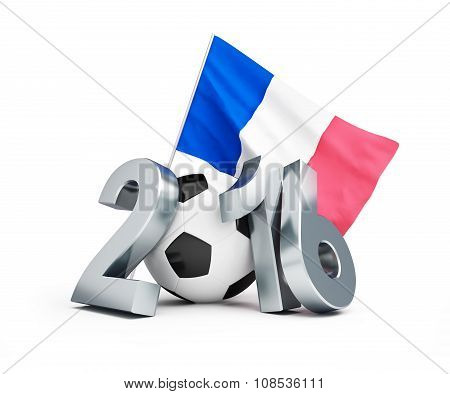 France Football 2016, Flag Of France