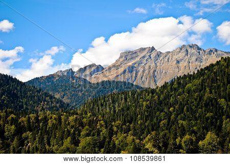Abkhazian mountain