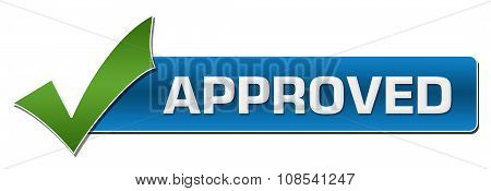 Approved With Green Tickmark