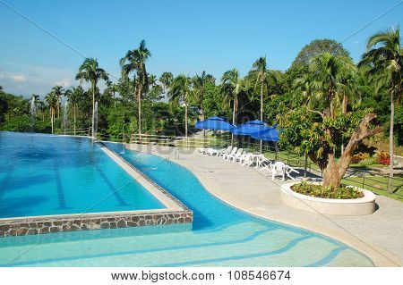 CCF-Mt. Makiling Recreation Center swimming pool in Batangas, Philippines