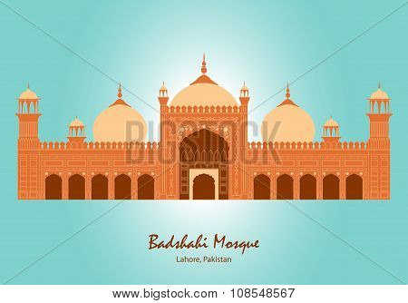 Badshahi Mosque in Lahore, Pakistan