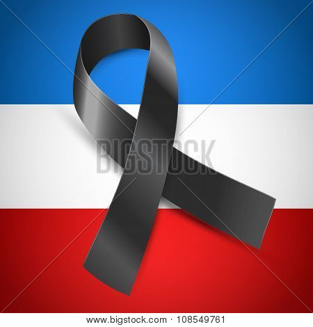 black mourning  France