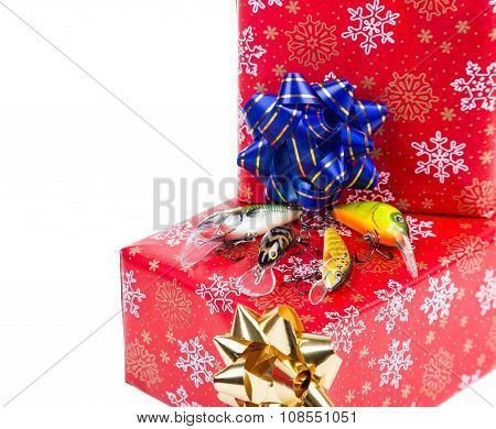 Christmas Gift In Box For Fishers