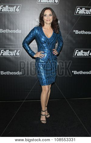 LOS ANGELES - NOV 05:  Courtenay Taylor at the Fallout 4 video game launch  at the downtown on November 05, 2015 in Los Angeles, CA