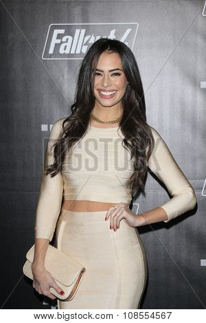 LOS ANGELES - NOV 05:  Chloe Bridges at the Fallout 4 video game launch  at the downtown on November 05, 2015 in Los Angeles, CA