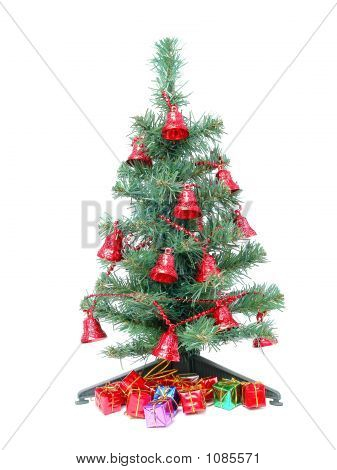 Christmas Tree And Christmas Gifts