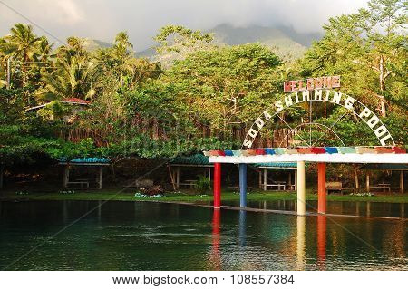 Soda Swimming Pool in Camiguin, Philippines