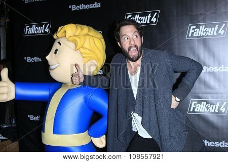 LOS ANGELES - NOV 05:  Jonathan Kite at the Fallout 4 video game launch  at the downtown on November 05, 2015 in Los Angeles, CA