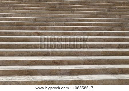 Background Of Stone Stairs, Close Up