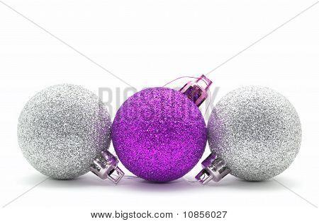 Sparkle Christmas Baubles