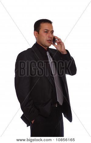 Mobile Phone Businessman