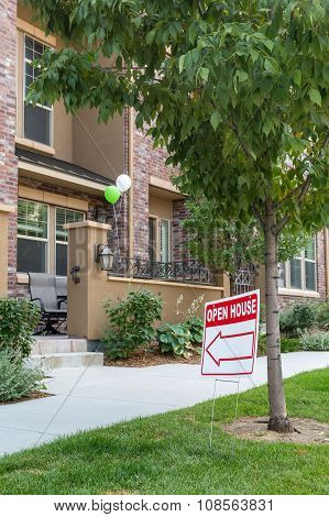 Open House At Townhouse For Sale