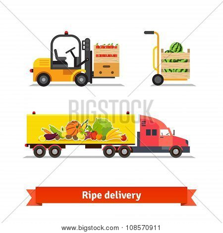 Fresh fruit and vegetables delivery