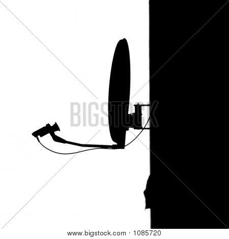 Satellite Silhouette