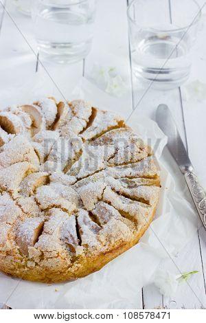 Apple Pie With Icing Shugar