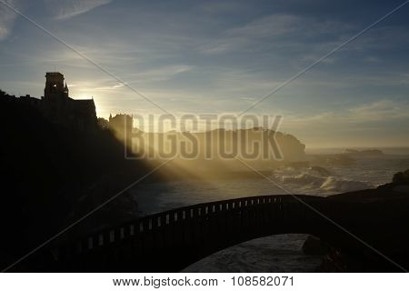 Arch Bridge in Biarritz