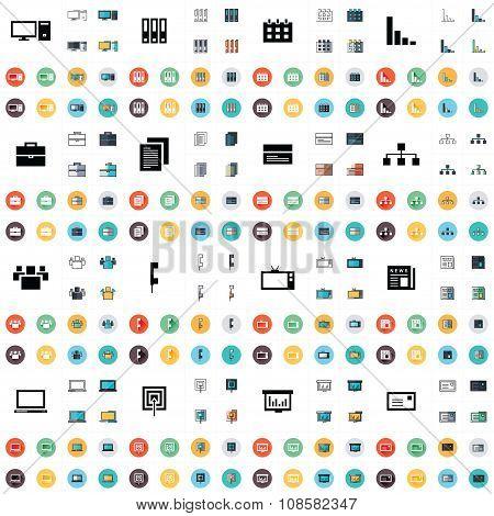 Design Office Icons Set