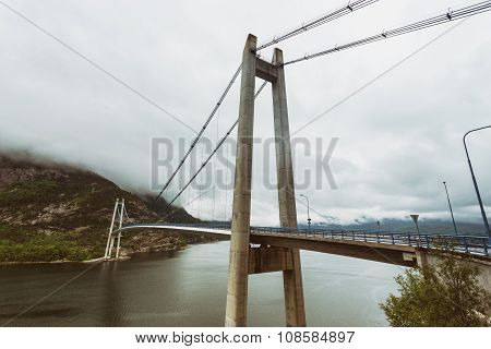 Bridge Over Lysefjord