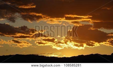 Sunset in Las Vegas