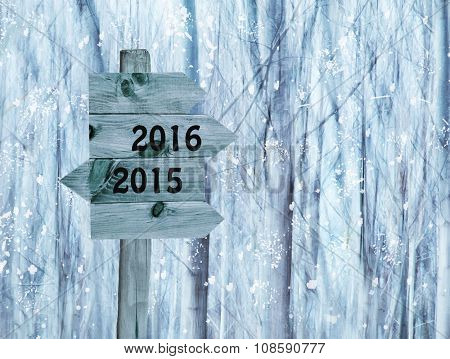 year-end and New Year