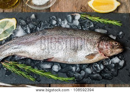 Fresh Trout With Rosemary And Lemon