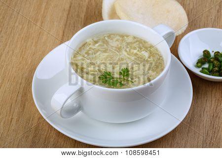 ?rab Meat Soup