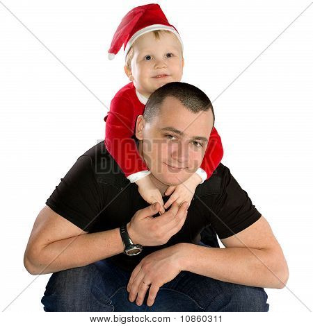 Happy Father With His Son