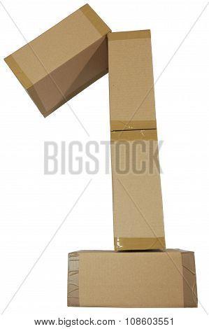 Pappkarton Eins