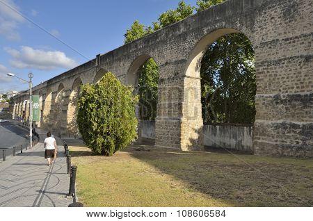 Aqueduct Of Coimbra