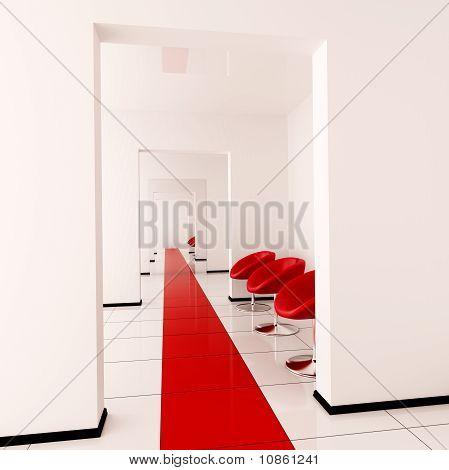 Moderno interior de una sala